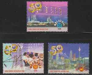 240-MALAYSIA-1999-50TH-ANNIVERSARY-OF-NATIONAL-ELECTRICITY-BHD-SET-FRESH-MNH