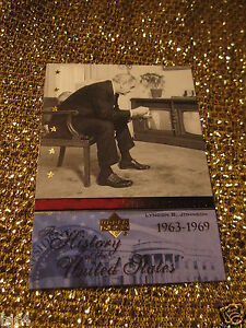 President-Lyndon-B-Johnson-USA-Upper-Deck-US-History-Trading-Card