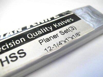 "HSS PLANER KNIVES 12-1//4 x 7//8 x 1//8/""  POWERMATIC 100"