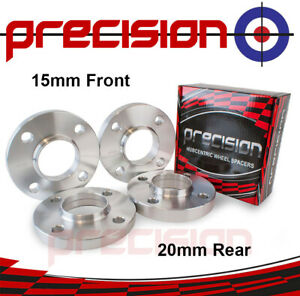 Staggered-Wheel-Spacers-15mm-20mm-Hubcentric-for-Citroen-C2