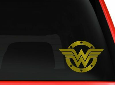 Thin blue line Wonder Woman Decal For Car Truck Sticker Vinyl Police super hero