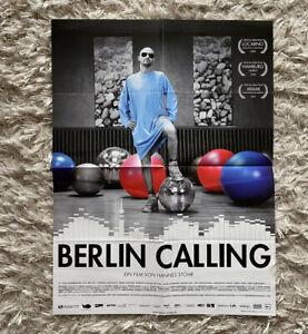 Berlin Calling Filmplakat ca. A3 Gefaltet neuwertig Paul Kalkbrenner - Berlin, Deutschland - Berlin Calling Filmplakat ca. A3 Gefaltet neuwertig Paul Kalkbrenner - Berlin, Deutschland