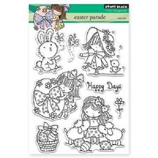 PENNY BLACK RUBBER STAMPS CLEAR EASTER PARADE NEW STAMP SET 2016