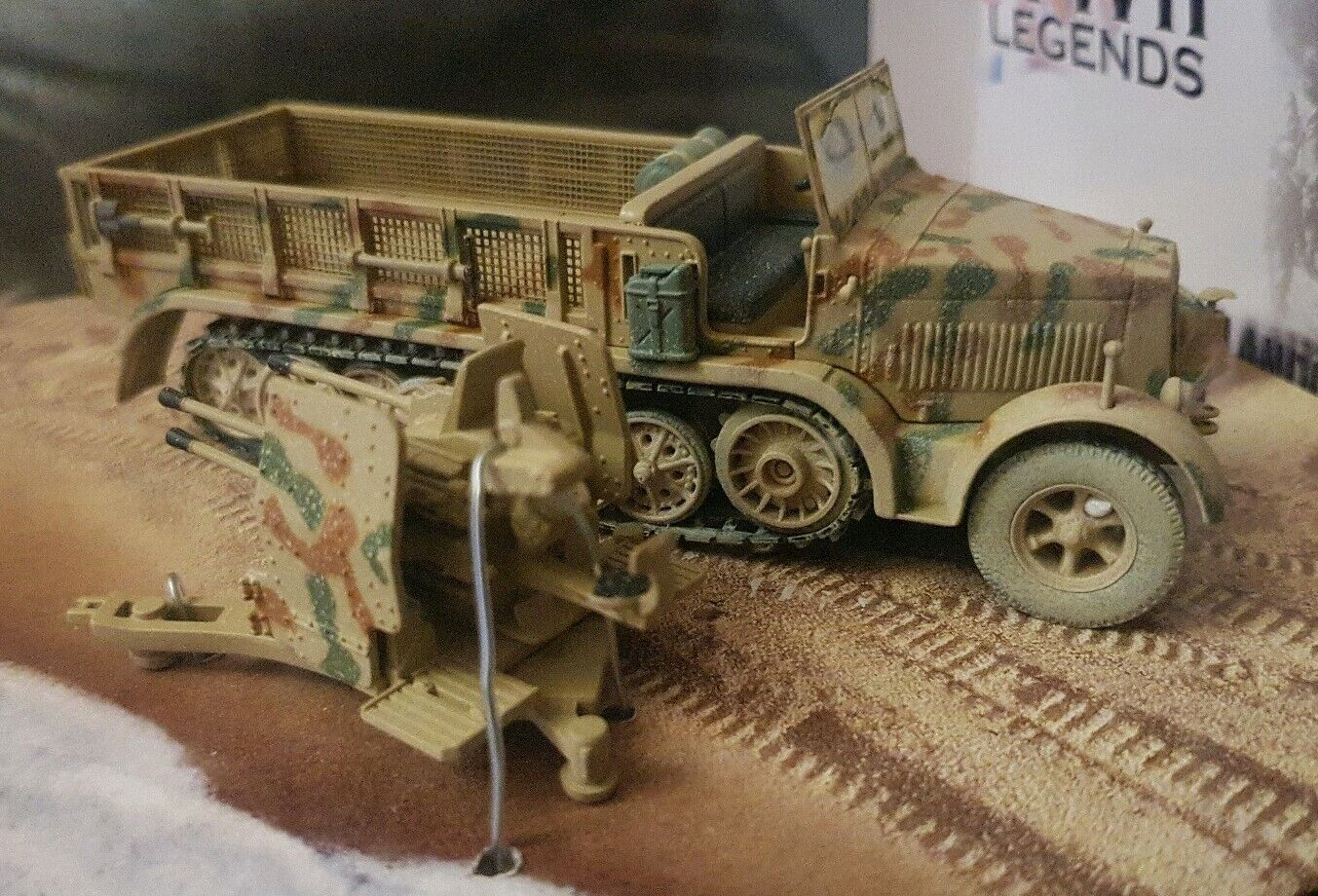 Corgi WWII Legends Sd.Kfz 7 1 Krauss-Maffei Panzer Support Vehicle CC60006 1 50