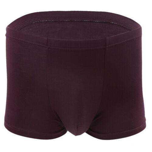 UK /_#4-6XL Mens Bamboo Fiber Boxer Brief Shorts Comfy Trunk Underwear Underpants