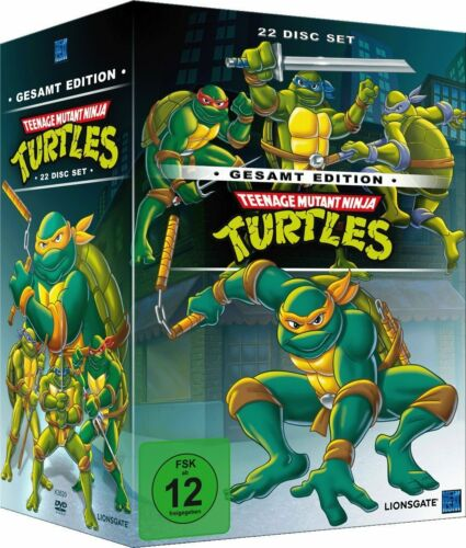 1 von 1 - DVD-Box*Teenage Mutant Ninja Turtles-Gesamtedition*169 Folgen*NEU OVP*(22 Disc)