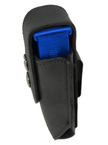 NEW Barsony Black Leather Single Magazine Pouch for Taurus Full Size 9mm 40 45