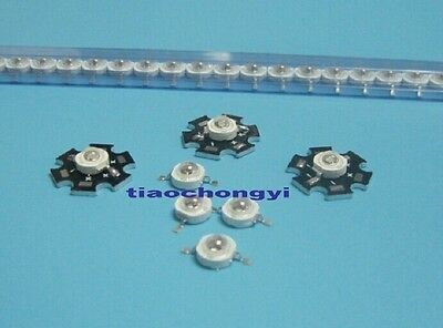 5 10 20 50 pcs 1W 3W High Power 7Type UV ultraviolet 365-405nm LED Lamp Light