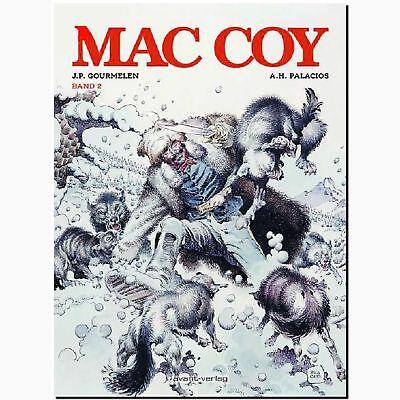 MAC COY 02 Gesamtausgabe brillanter USA Südstaaten Western Klassiker COMIC NEU