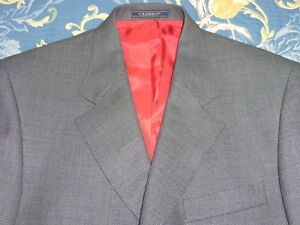 Comme Neuf! 1200 £ Crombie Cashmere Tweed Costume Veste 38 Pantalon 31 60 S Mod Style-afficher Le Titre D'origine