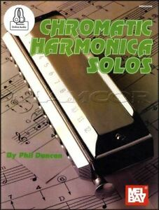 Chromatic-Harmonica-Solos-Sheet-Music-Book-Audio-Folk-amp-Classic-Themes