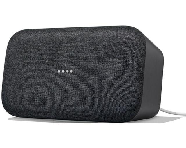 GOOGLE Home Max Smart Speaker, Karbon NEU OVP