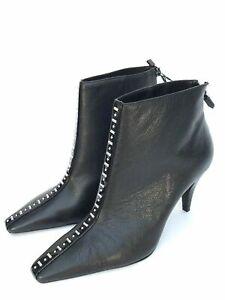Zara Stud Ankle Boots UK 3 5 6 7 | eBay
