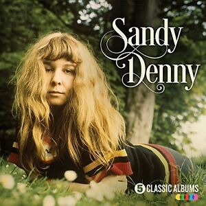 Sandy-Denny-5-Classic-Albums-New-CD-UK-Import