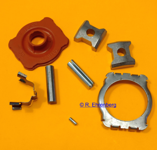 OEM Mopar Steering Plunge Coupling Rebuild Kit W/ Instructions Plymouth Dodge