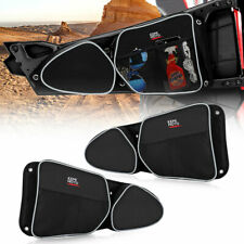 UTV Side Door Bag w/ Knee Pad For Polaris RZR XP 4 1000 900XC S900 Turbo 2014-18