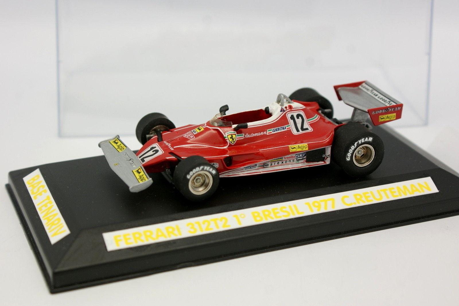 Tenariv Set Built 1 43 - F1 Ferrari 312 T2 Winner Brazil GP 1977 Reuteman