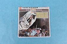 VINTAGE VIEW-MASTER 3 REEL PACKET B875 BIRTH OF JESUS BIBLE STORIES MINT/SEALED