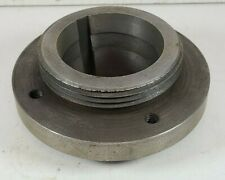 Vintage L00 Lathe Chuck Spindle Adapter Metal Lathe Threaded Tapered