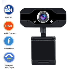 PVR006-1080P-HD-USB-Webcam-Camera-Laptop-Autofocus-Video-Microphone-Calling