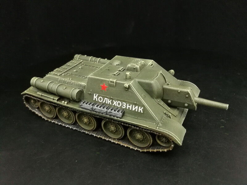 1 56 28mm DPS painted WW2 Bolt Action Soviet USSR Su-100 Self Propelled Gun YB59