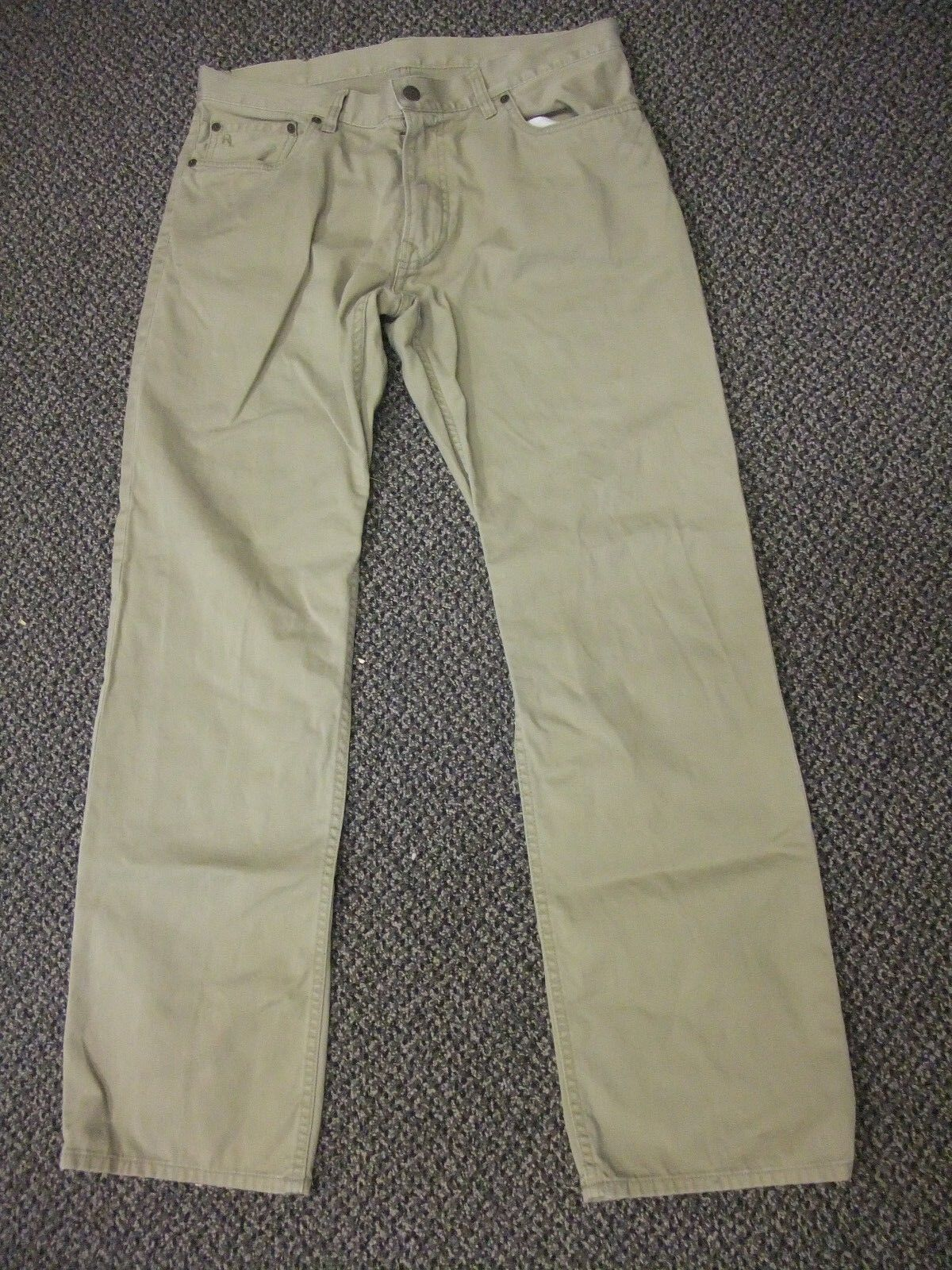 Vintage Men's Tan Pants Size 34 32