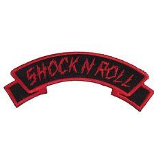 Kreepsville 666 Shock N Roll Logo Name Patch NEW Biker Psychobilly Punk Rock Oi