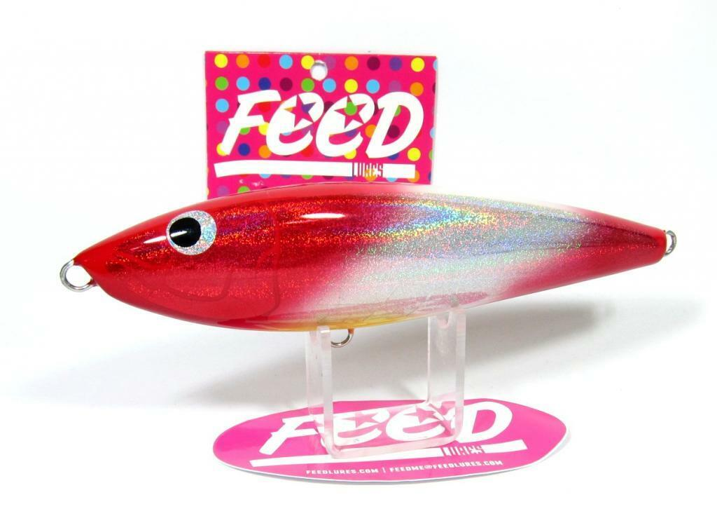 Feed Lures Slash 130 Hand Made Stick Bait Sinking Lure 130 grams 65 (9065)