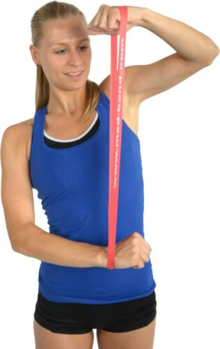 Resistance Loop Band Stretch Exercise Power Training Yoga 1x TAN Extra Light