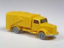 TOP: Wiking Sondermodell Mercedes L 3500 Müllwagen mit 2 Tonnen