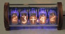 5-tube Nixie Clock V3 (DIY Kit, with Perspex and Teak case)