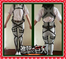★ ATTACK on TITAN sistema di CINTURE cosplay belts Shingeki no Kyojin cinghie