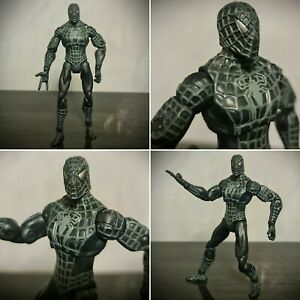 RARE-Spiderman-3-Limited-Edition-Black-Suit-6-034-Action-Figure-2006-Hasbro-Marvel