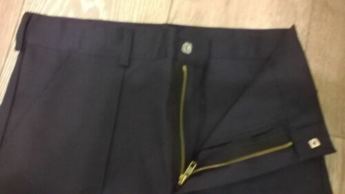 "TR279 mens navy blue work Long Tall leg warm thermal NEW trousers 50/"" waist"