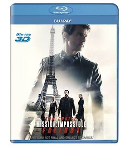 Mission-Impossible-Fallout-3D-Blu-Ray-DISC-ONLY-All-Region-English-Rare