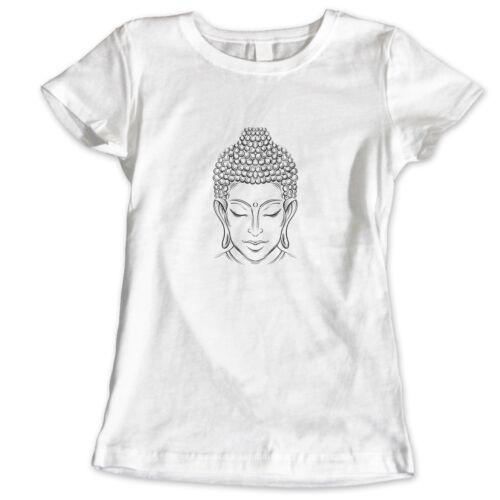 WOMANS BUDDHA BUDDHIST PEACE YOGA MEDITATION BUDDHISM JAPANESE CHINESE 4 T Shirt