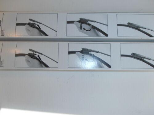 "Vauxhall//Opel ZAFIRA 2005-2016 trico Wiper Blades 28/""x22/"" pince onglet Fit"