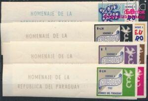 Paraguay-993-999-postfrisch-1961-Europa-8940428