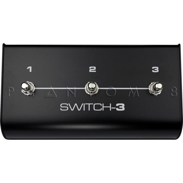 TC-Helicon Switch-3 Footswitch Pedal Accessory for VoiceLive Rack Processors NEW