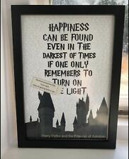 Harry Potter Quote Deca... Happiness can be Found Even in the Darkest of Times