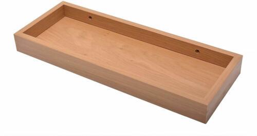 Design Wandregal Holzregal vertiefter Regalboden Eiche ca 60cm NEU 4067