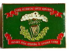 American Civil War Irish Brigade Flag Square Lapel Pin Badge 69th New York
