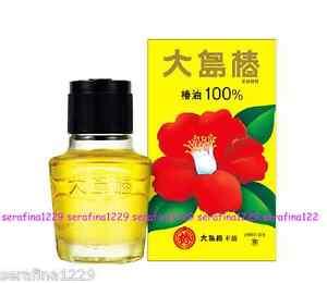 Japan Oshima Tsubaki Hair Oil 100 Natural Camellia Seed