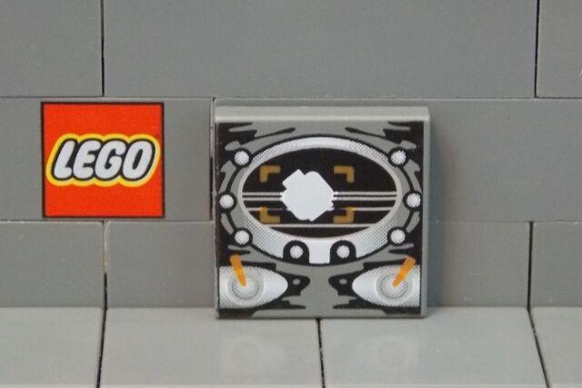 Beard,Reddish Brown 4 NEW LEGO Tile 2 x 2,Groove,Portrait of Male