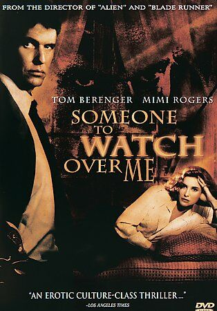 Someone to Watch Over Me (DVD, 1999, Widescreen ) Rare OOP