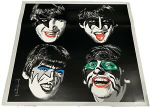 Beatles-As-Kiss-Mr-Brainwash-2010-Convention-Exclusive-Lithograph-Poster