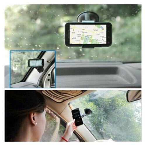 Auto Car Truck Parts Universal 360° Rotating Phone Windshield Mount GPS Holder