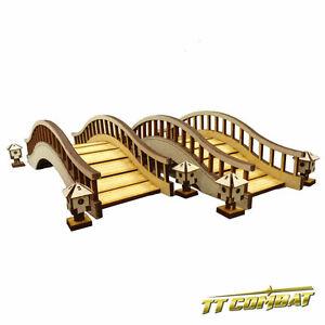 TTCombat-BNIB-Oriental-Bridge-amp-Lanterns-Set-EES003