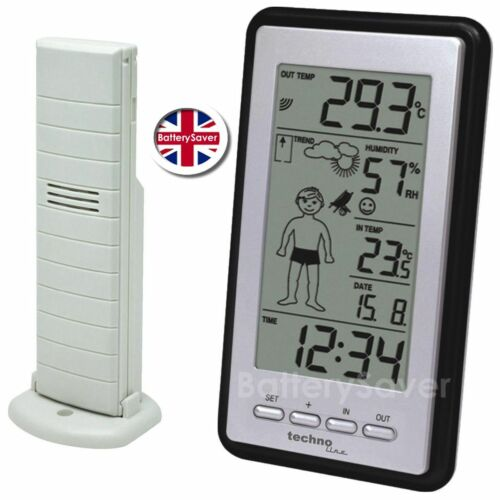 Humidity and Temperature with wireless sensor Technoline WS 9632-IT Weather Boy