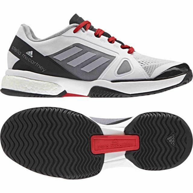 Adidas Stella McCartney BOOST Barricade White Black Red Women Price reduction Comfortable and good-looking
